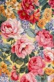 Tissu floral 01 Image libre de droits