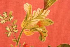 Tissu floral Photographie stock