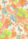 Tissu floral. Images libres de droits