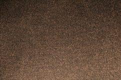 Tissu foncé Brown de texture Photographie stock libre de droits