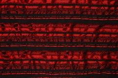 Tissu froissé par rouge. photographie stock libre de droits