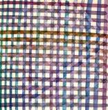 Tissu géométrique Images stock