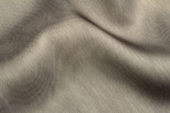 Tissu gris élégant de satin Photographie stock libre de droits