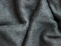 Tissu gris Photographie stock