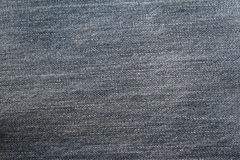 Tissu gris de denim Images stock