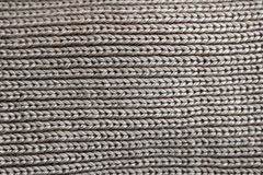 Tissu gris de laines Photo stock