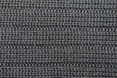 Tissu gris de laines Images stock