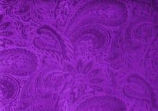 Tissu gris ou argenté de velours avec un modèle floral élégant de vintage ou une texture de luxe photo stock