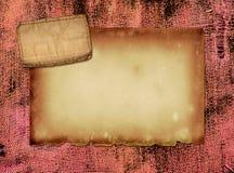 Tissu grunge Images libres de droits