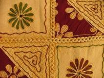 Tissu indien Photo stock