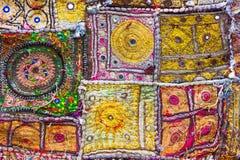 Tissu indien Photos libres de droits