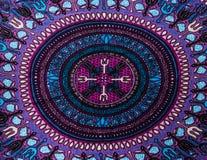 Tissu indien de style Images stock