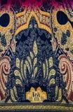 Tissu indien de style Images libres de droits