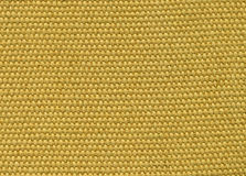 Tissu jaune Image libre de droits