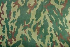 Tissu kaki de camouflage Photographie stock libre de droits