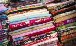 Tissu moderne de Colorfol Photo stock