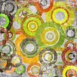 Tissu modifié avec des cercles illustration de vecteur