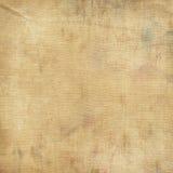 Tissu modifié et âgé de toile Photographie stock