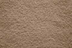 Tissu mou de feutre de texture de couleur brune Image stock