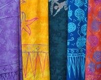 Tissu multicolore 1 Photographie stock libre de droits