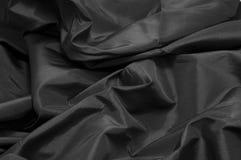 Tissu noir Photographie stock libre de droits