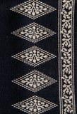 Tissu noir et blanc Image libre de droits
