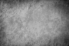Tissu noir et blanc grunge de toile de texture Image libre de droits