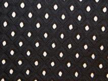 Tissu noir sur le fond blanc Image libre de droits