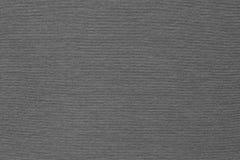 Tissu ondulé de texture de couleur de gris de débardeur Images libres de droits