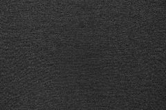 Tissu ondulé de texture de couleur de noir de débardeur Photo stock