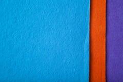 Tissu orange Images stock