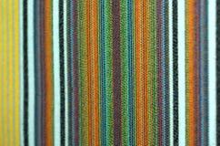 Tissu rayé Photo libre de droits