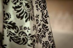 Tissu rococo détaillé drapé image libre de droits