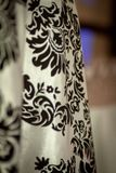 Tissu rococo détaillé drapé photos stock