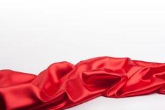 Tissu rouge 2 Image stock