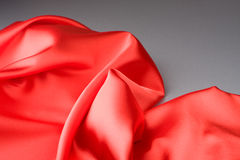Tissu rouge Image stock