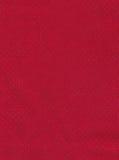 Tissu rouge Photo libre de droits