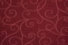 Tissu rouge Images stock