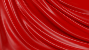 tissu rouge de fond d'abrégé sur l'illustration 3D illustration stock