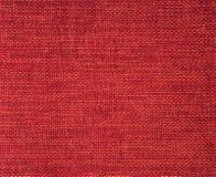 Tissu rouge de tissu Photographie stock libre de droits