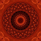 Tissu rouge Shimmery Photo libre de droits