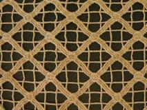 Tissu rugueux de Brown Images libres de droits