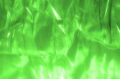 tissu, texture de fond Vert en soie, salade, tissu Humeur d'U Image stock