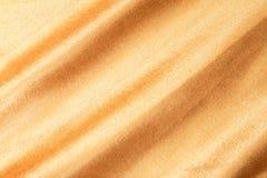 Tissu texturisé d'or photos libres de droits