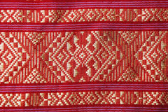 Tissu thaïlandais traditionnel Image stock