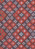 Tissu tissé thaï antique Images libres de droits