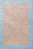 Tissu tricoté Photos libres de droits
