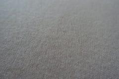 Tissu tricoté de laine pelucheux blanc crème simple Image libre de droits