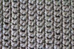 Tissu, tricoté du fil, plan rapproché Photos stock
