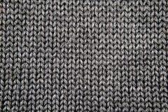 Tissu tricoté gris images libres de droits